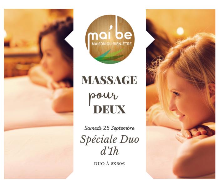 Massage Duo Chez Mai'be